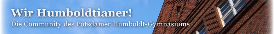 Wir Humboldtianer! Die Community des Potsdamer Humboldt-Gymnasiums